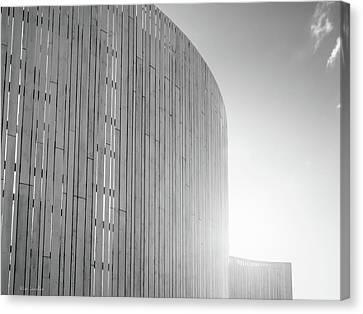 Unique Structure Canvas Print - Curve Seven by Wim Lanclus