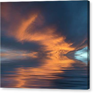 Curved Canvas Print by Jerry McElroy