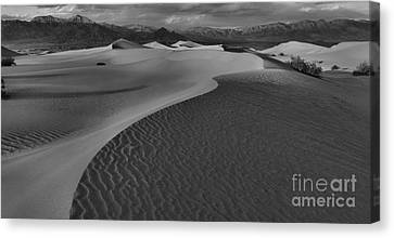 Curves Into The Night Canvas Print by Adam Jewell