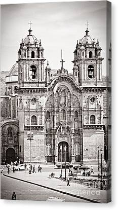 Cusco Cathedral Canvas Print