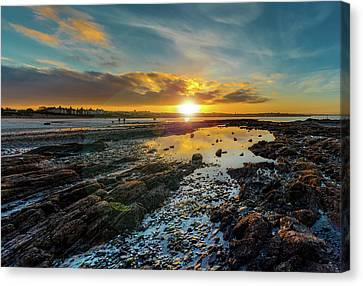 Edge Of Time Canvas Print by Martyn Boyd