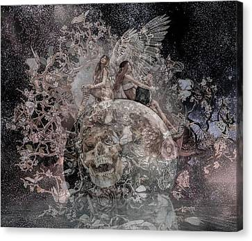 Stellar Canvas Print - Custom 06032017 Upon Deaf Ears by Betsy Knapp