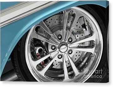 Custom Car Wheel Canvas Print by Oleksiy Maksymenko