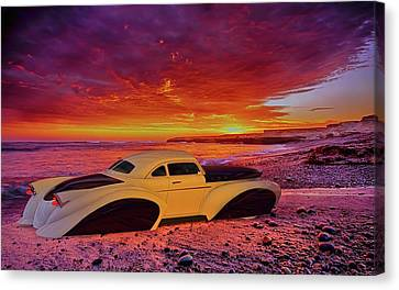 Canvas Print featuring the photograph Custom Lead Sled by Louis Ferreira