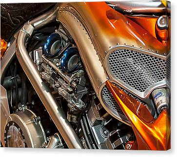 Custom Motorcycle Canvas Print