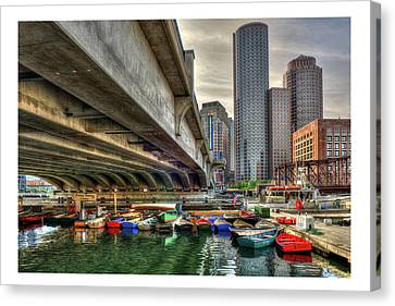 Canvas Print featuring the photograph Custom Order - Boston Rowing Center by Joann Vitali