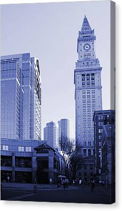 Customs House Boston Canvas Print by Isabel Poulin