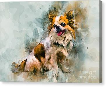 Face Canvas Print -  Cute Chihuahua  by Ian Mitchell