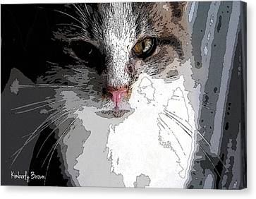 Cute Kittie Canvas Print