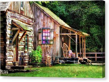 Cuttalossa Farm  Canvas Print by Carolyn Derstine