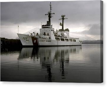 Cutter In Alaska Canvas Print