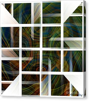 Cutting Life Canvas Print by Thibault Toussaint
