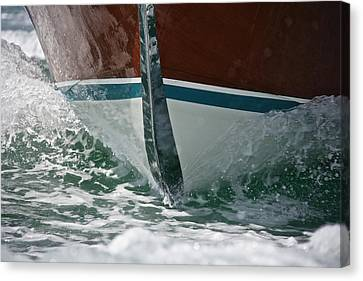 Cutwater Canvas Print by Steven Lapkin
