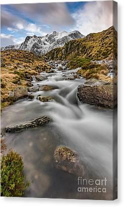 Cwm Idwal Stream Canvas Print