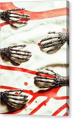 Cyborg Death Squad Canvas Print