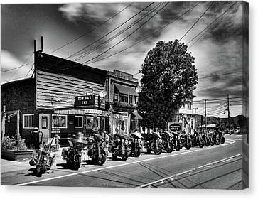 Cycles In Old Forge Canvas Print
