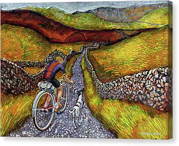 Lancashire Lanes II Canvas Print by Mark Jones