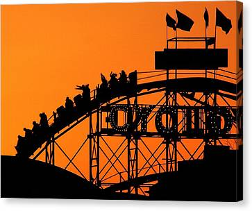 Cyclone Canvas Print by Mitch Cat