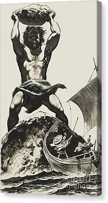 Cyclops Canvas Print by Angus McBride
