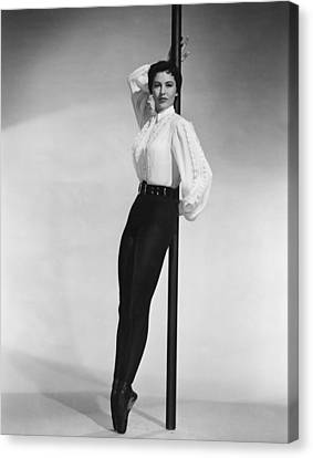 Cyd Canvas Print - Cyd Charisse, Portrait by Everett