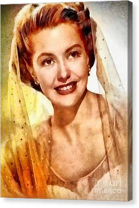 Cyd Canvas Print - Cyd Charisse, Vintage Hollywood Legend by Frank Falcon