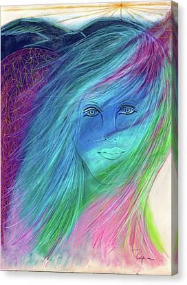 Cyndi 5th Dimension Canvas Print