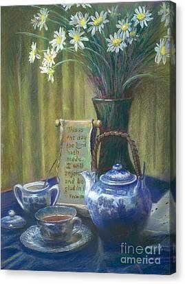 Cyndis Tea Time Canvas Print