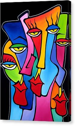 Cynics Canvas Print by Tom Fedro - Fidostudio