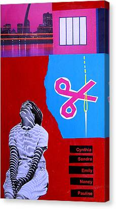 Cynthia...sandra... Canvas Print by Adam Kissel