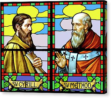 Cyril And Methodius Canvas Print by Phil Robinson