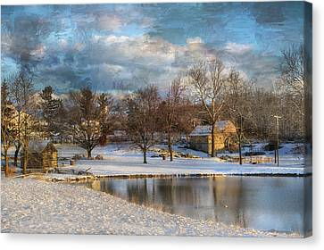 Cyrus Mccormick Farm Canvas Print by Kathy Jennings
