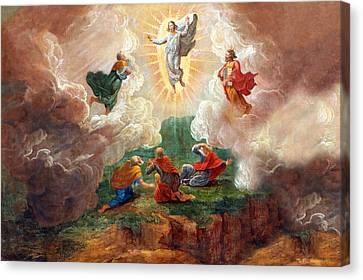D. Nollet The Transfiguration Canvas Print by Munir Alawi