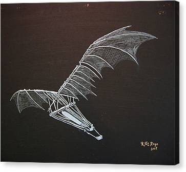 Da Vinci Flying Machine Canvas Print