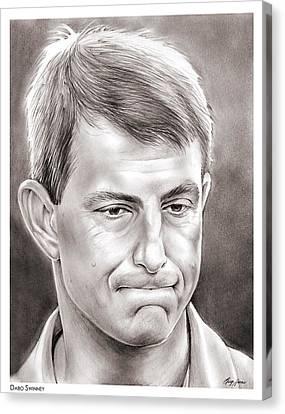 Coach Canvas Print - Dabo Swinney by Greg Joens