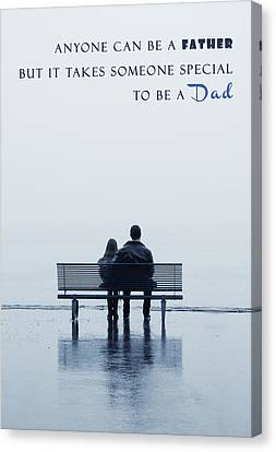 Dad Canvas Print by Joana Kruse