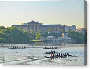 Dad Vail Regatta 2016 Canvas Print by Bill Cannon