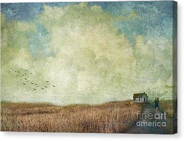 Artography Canvas Print - Daddies Home by AJ Yoder