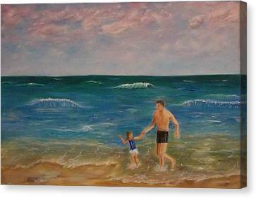 Daddys Girl Canvas Print