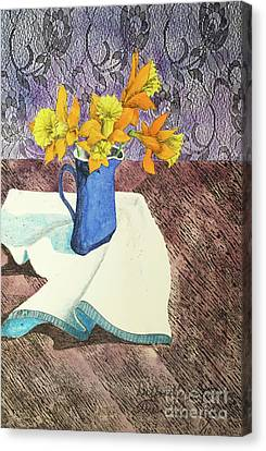 Daffodilly Afternoon Canvas Print