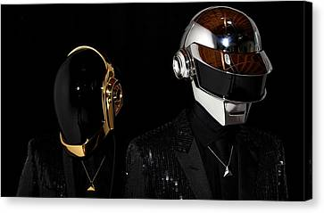 Daft Punk - 75 Canvas Print by Jovemini ART