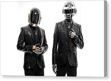 Daft Punk - 955 Canvas Print by Jovemini ART
