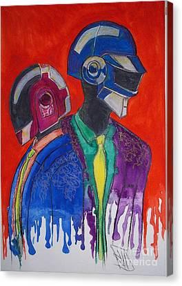 Daft Punk Canvas Print by Jose Hau