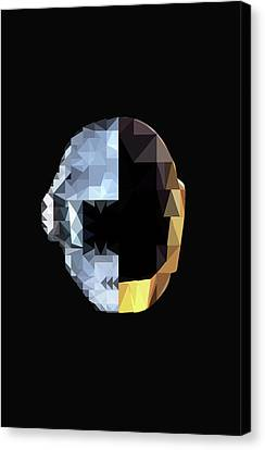 Daft Punk Canvas Print by Poojit Rasalkar