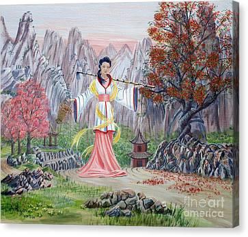 Dai Yuu Canvas Print by Anthony Lyon