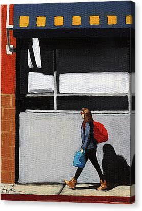 Canvas Print - Daily Errands by Linda Apple