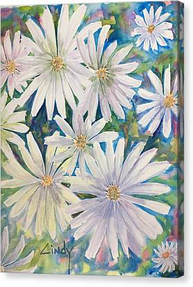 Daisies Galore-2 Canvas Print