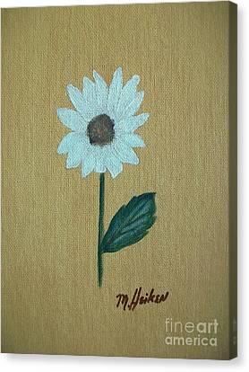 Daisy 2 Canvas Print by Marsha Heiken