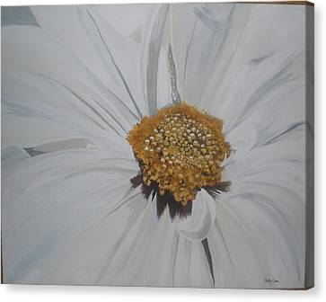 Canvas Print featuring the painting Daisy by Betty-Anne McDonald