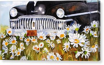 Daisy Desoto Canvas Print by Suzy Pal Powell