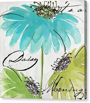 Daisy Morning Canvas Print